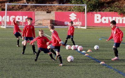 El futbol base torna als entrenaments