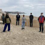 Altafulla impulsa un canvi de paradigma a la regressió de la platja amb la creació de dunes