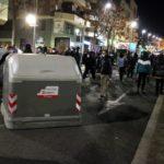 Tercera nit de mobilitzacions a Tarragona per demanar la llibertat de Pablo Hasél