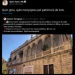 L'enderroc de dues cases noucentistes de Reus aixeca les crítiques d'Unesco Tarragona i de l'ex president Quim Torra