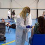 Cambrilses converteix en el puntde vacunació de la Covid-19 al Baix Camp