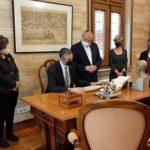 Reus exposa el seu model de transparència al conseller Bernat Solé
