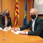 L'Ajuntament de Cambrils i DNA, empresa gestora del Parc Samà, signen un conveni de col·laboració