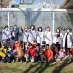 Alumnes de l'Escola Ventura i Gassol d'El Morell visiten el Centre d'Atenció Primària