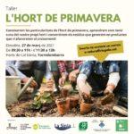 'Engeguem l'hort de primavera', un nou taller de Sostenibilitat a Torredembarra