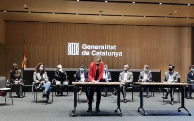 La Diputació se suma a l'acord històric contra la pobresa energètica a Catalunya