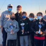 Quatre regatistes del Club Nàutic Cambrils, classificats pel Campionat d'Espanya d'Optimist