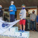 Joan Domingo i Iker Múgica, del Nàutic Cambrils, pugen al pòdium de la VI Guíxols Cup
