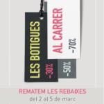 El Tomb de Reus organitza la 41ª edició de les Botigues al Carrer com a final d'una campanya de rebaixes molt atípica
