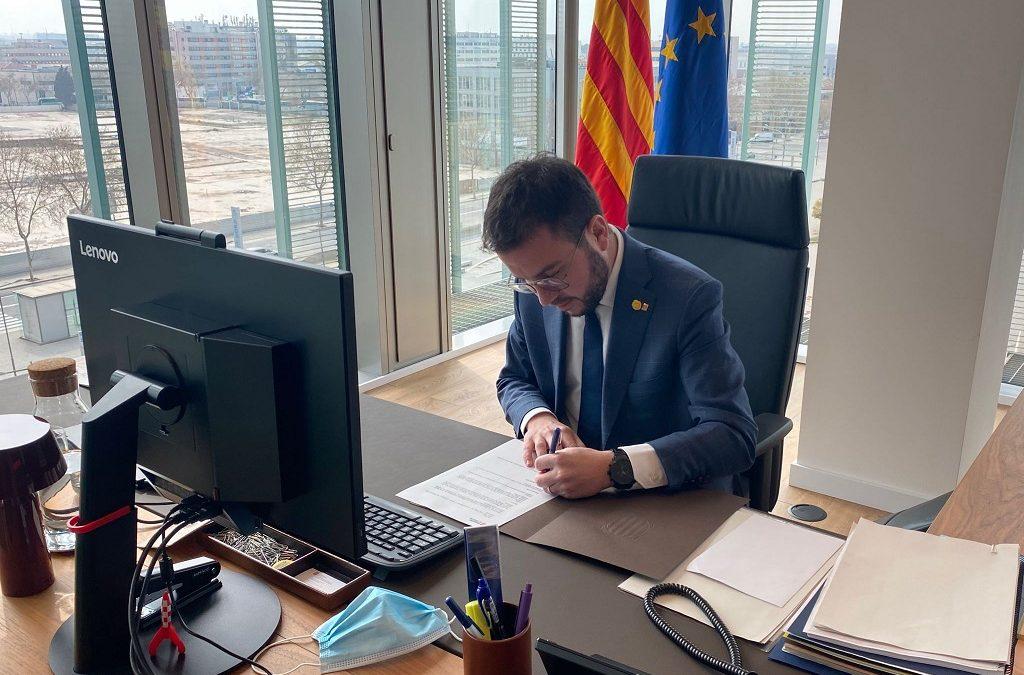 Aragonès apura al darrer dia la constitució del nou Parlament