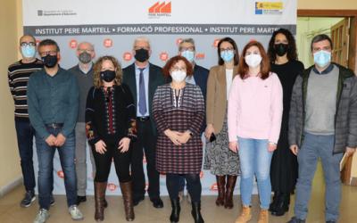 L'Institut Pere Martell participarà en un projecte europeu de centres d'excel·lència d'FP