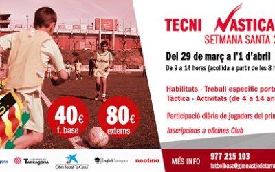 El club grana ja té enllestit el programa del Tècni Nàsticamp 2021
