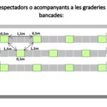 L'Ajuntament de Tarragona informa als clubs dels procediments per permetre l'accés de públic a competicions