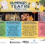 Els Diumenges al Teatre de Cambrils tornen amb titelles,emocions, circ i molt d'humor