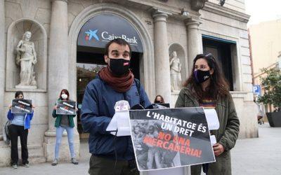 L'esquerra independentista de Tarragona engega una campanya per reclamar millores en matèria d'habitatge
