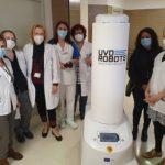 El Joan XXIII i quatre hospitals més reben un robot per desinfectar les habitacions de coronavirus