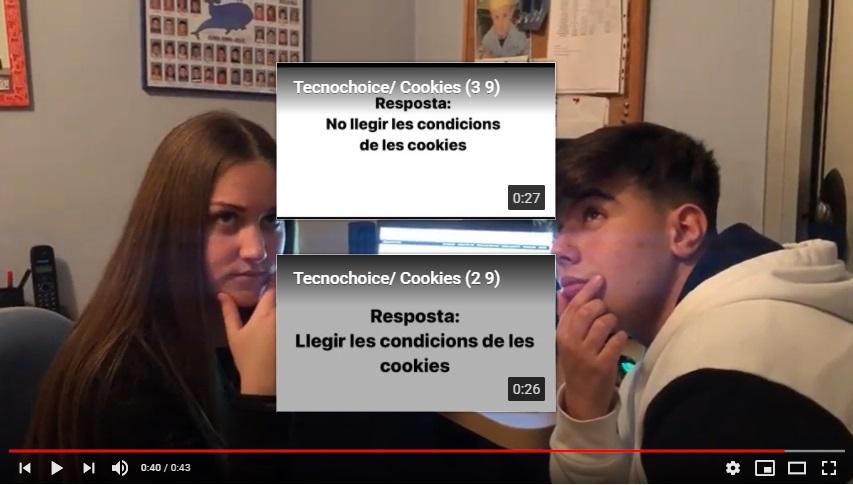 Joves de l'INS El Morell creen un joc de YouTube