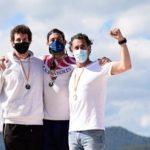 Bronze de Jordi Borràs del Club de Vela Platja Llarga al Campionat de Catalunya de piragüisme