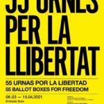La mostra '55 urnes x la llibertat', a Reus