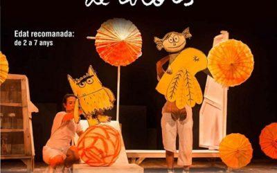 L'espectacle de titelles 'El monstre de colors' es podrà veure al Casal Municipal el 8 de maig
