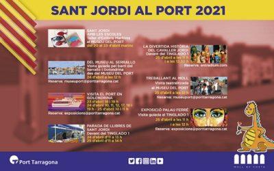 Sant Jordi 2021 arriba al Port de Tarragona amb activitats culturals per a la ciutadania