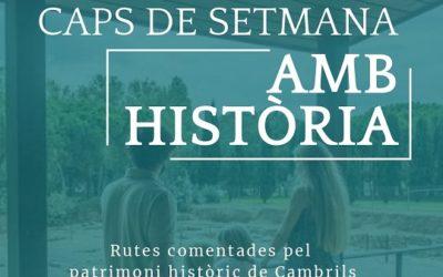 El Museu d'Història de Cambrils recupera els 'Caps de setmana amb història'