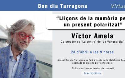 Víctor Amela, al 'Bon dia Tarragona' de la Cambra
