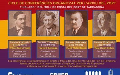 L'Arxiu del Port enceta un cicle de conferències sota el títol 'Personatges de la II República a Tarragona'