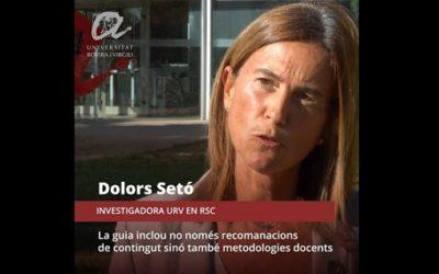 La sèrie de vídeos divulgatius #URVGoals estrena una segona temporada