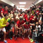 Victòria del CF Pobla davant la UE Figueres en el temps afegit (2-1)