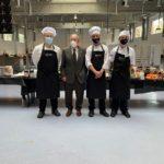 Tres joves cuiners de Tarragona, finalistes del 'màster xef' dels alumnes catalans