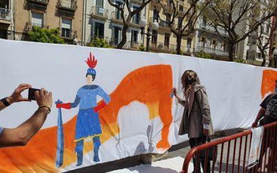 250 pàgines ciutadanes formaran part del Gran Llibre de Sant Jordi de Tarragona impulsat per  Comerç