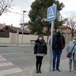 Acaben les obres de millora de la il·luminació dels passos de vianants del carrer d'Astorga