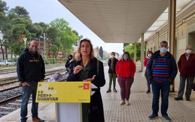La CUP reclama la recuperació de la via en desús Tarragona-Salou-Cambrils per al TramCamp
