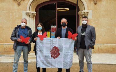 Vila-seca s'engalana amb art efímer per la Diada de Sant Jordi