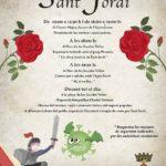 Constantí recupera la celebració de la Diada de Sant Jordi amb actes culturals al carrer