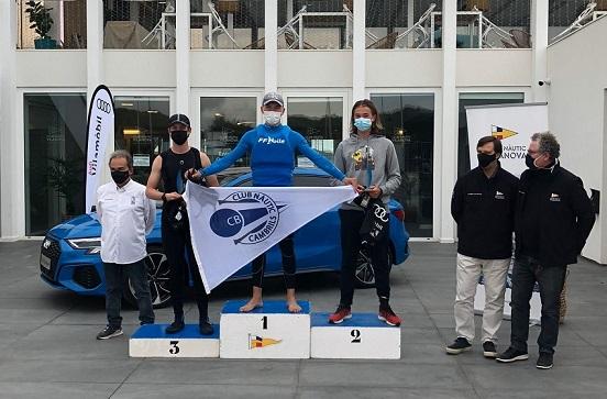 El cambrilenc Santi Alberto guanya el Gran Premi Audi Vilamòbil del Club Nàutic Vilanova en Ilca 4