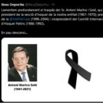 Mor Antoni Martra, el president que va veure enlairar l'hoquei del Reus Deportiu amb les primeres Copes d'Europa