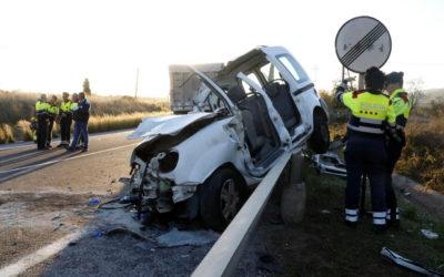Fort descens del nombre de víctimes mortals a les carreteres de Tarragona