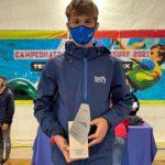 El regatista salouenc Sandro Portune es proclama subcampió d'Espanya en la classe Techno Juvenil Sub15