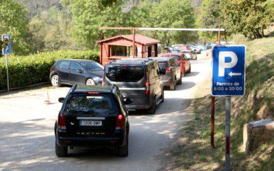 Alcover restringeix el pas de vehicles per regular l'afluència d'excursionistes a la Vall del Glorieta