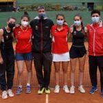 Les noies del cadet del Club Tennis Femení, subcampiones de Catalunya