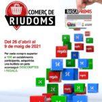 Riudoms engega una nova edició de la campanya Rasca Premis