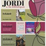 Les biblioteques de Mont-roig celebren Sant Jordi amb presentacions d'autors i autores locals