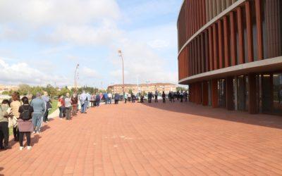 Salut posa en marxa el punt de vacunació massiva de Tarragona
