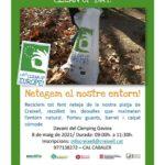 Medi Ambient organitza una jornada de recollida de residus a la Platja del Gorg de Creixell