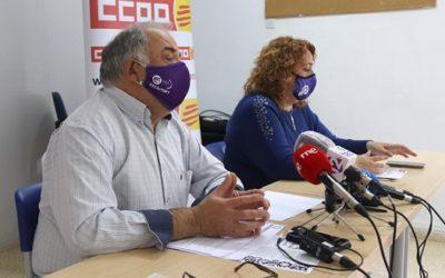 UGT i CCOO es concentraran a Tarragona l'1 de maig per reconèixer la feina dels treballadors durant la pandèmia