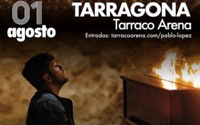 Pablo López actuarà el pròxim 1 d'agost a Tarragona