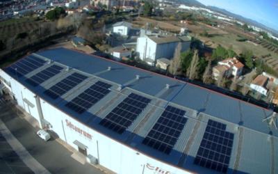 L'Avellanera instal·la panells solars a la seva planta productora de La Selva del Camp