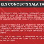 Els concerts de Els Pets, Sidonie i Crim+La Inquisición queden ajornats